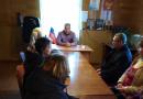 Никитинский сельский совет. Подготовка к районной конференции «Единой России»