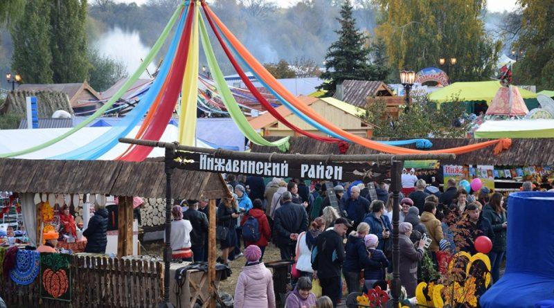 Инжавинский район на Покровской ярмарке