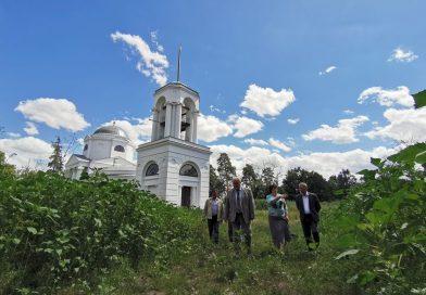 Реставрационные работы в усадьбе «Караул»