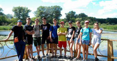 Волонтеры в Воронинском заповеднике