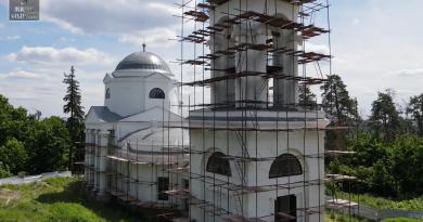 Восстановительные работы Свято-Троицкого храма села Караул Инжавинского района
