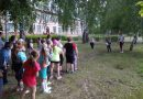 Подвижные игры в лагере «Солнышко»