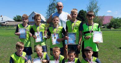 Очередная победа футболистов Красивской школы