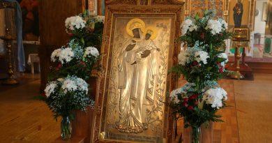 В Жердевку доставлена чудотворная Карандеевская икона Божией Матери