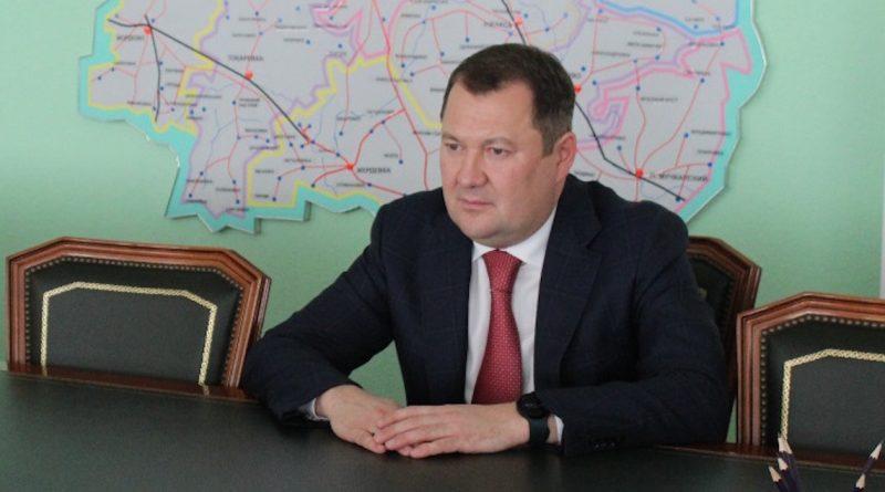Поздравление врио главы администрации Тамбовской области Максима Егорова с праздниками 17 октября